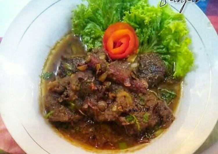 Bistik Daging khas Banjar