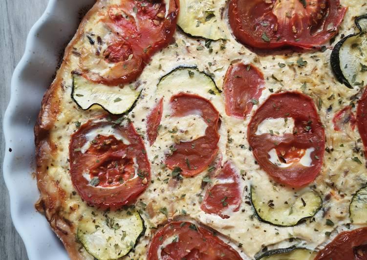 Recette: Délicieux Quiche tomate maquereau 🍅🐟