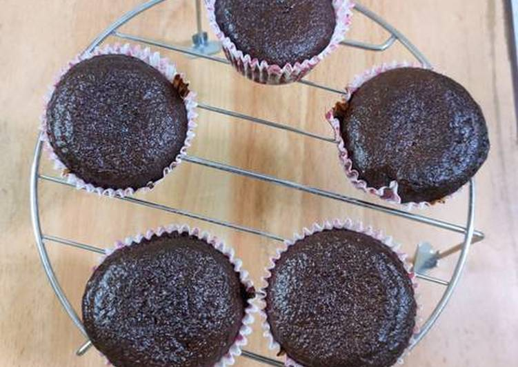 Recipe of Favorite Chocolate Cupcakes