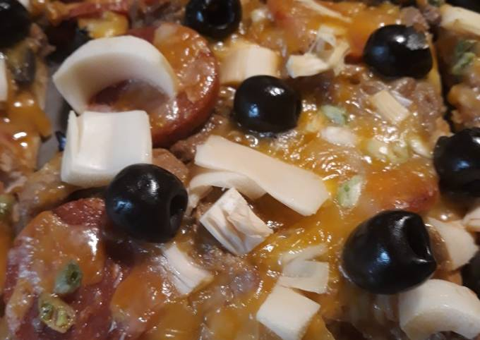 Recipe: Yummy Pizza, Melting Pot