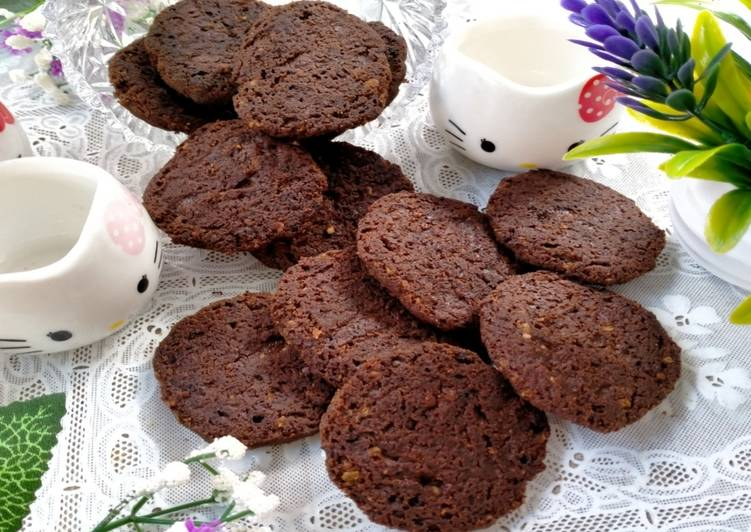 Cookies Teflon (No oven, No Telur, No Mixer,No air) Simple Enak
