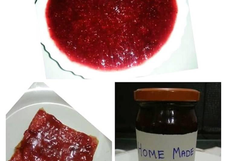 Recipe: Yummy Homemade Strawberry Jam