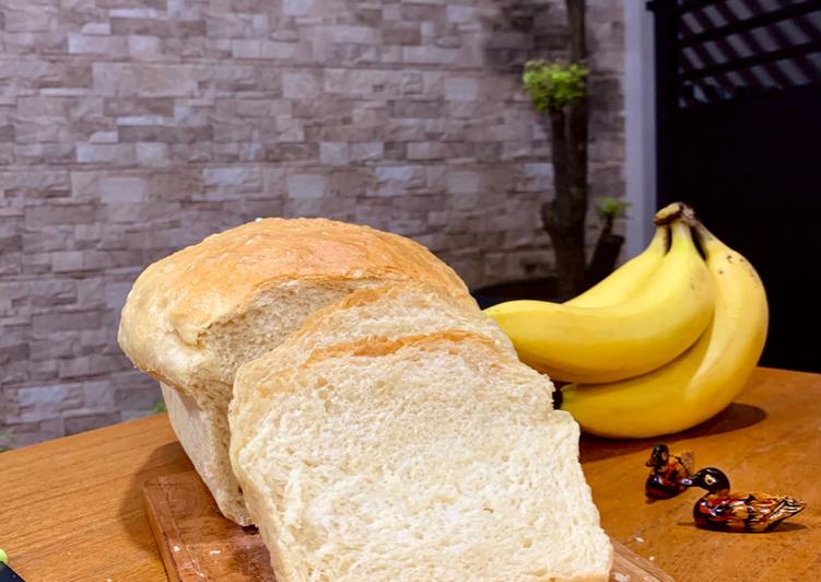 Resep Roti Tawar Sederhana – 6 bahan saja! Terbaik