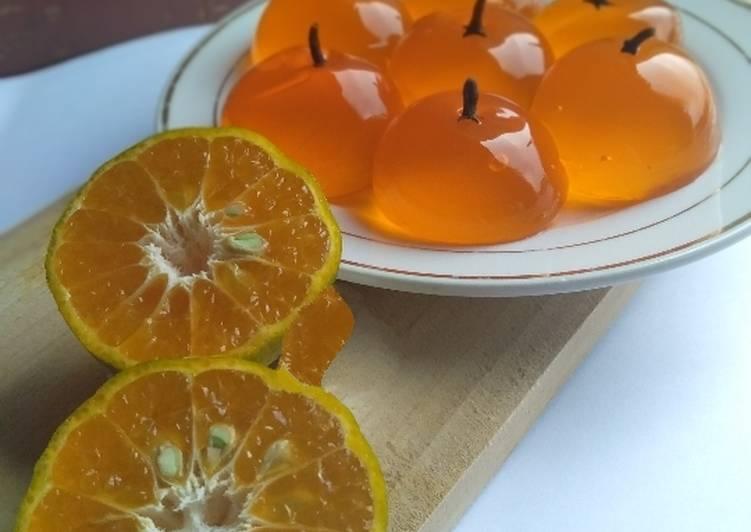 Jelly rasa jeruk 🍊