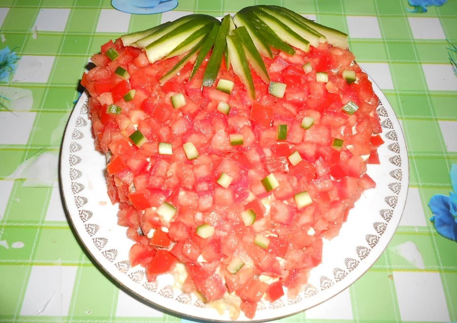 рогов-пантов салат ягодка рецепт с фото того