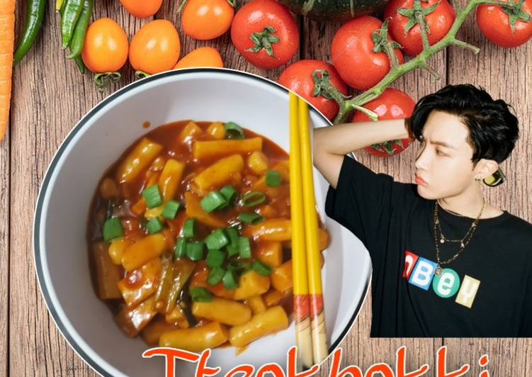 Tteokbokki homemade dengan gochujang