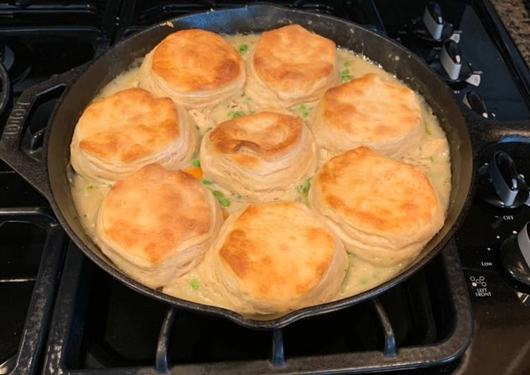Step-by-Step Guide to Make Super Quick Homemade Skillet Chicken Pot Pie