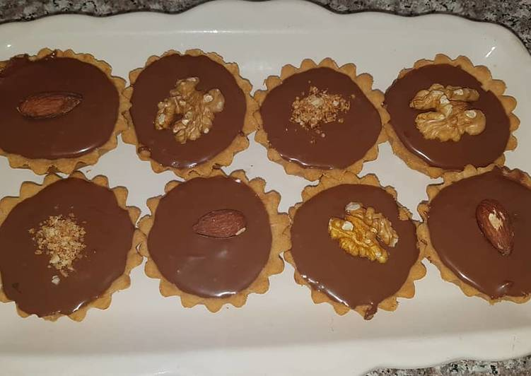 Recette De Mini tartelettes au chocolat
