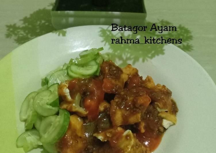 Batagor Ayam simple