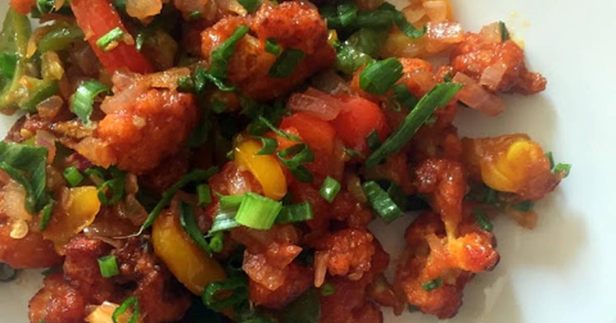 Baked Gobi Manchurian Recipe By Kalyani Cookpad