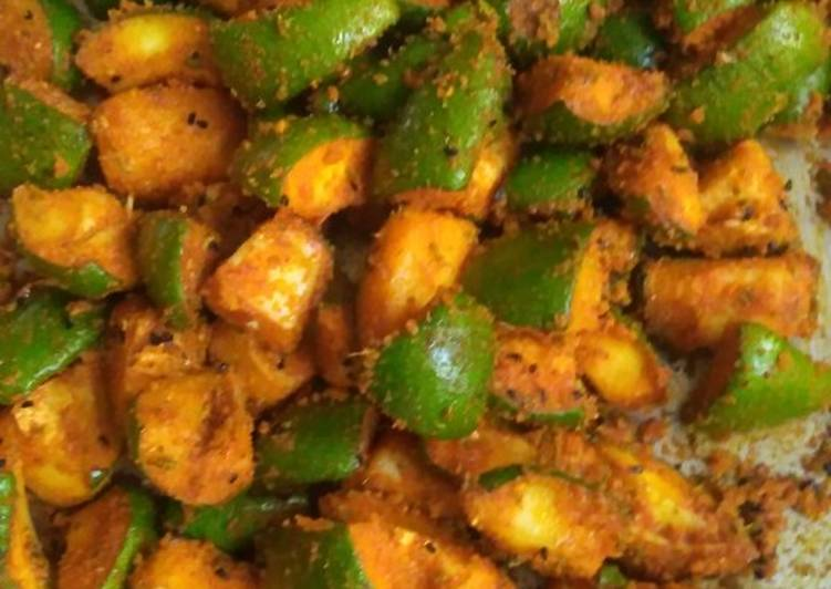 15 Minute Steps to Make Love Mango pickle