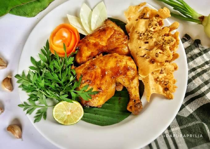 Ayam Bakar Ungkep Santan