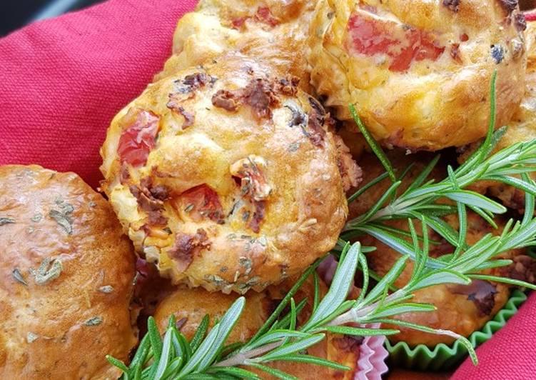 Muffins (auf griechische Art)