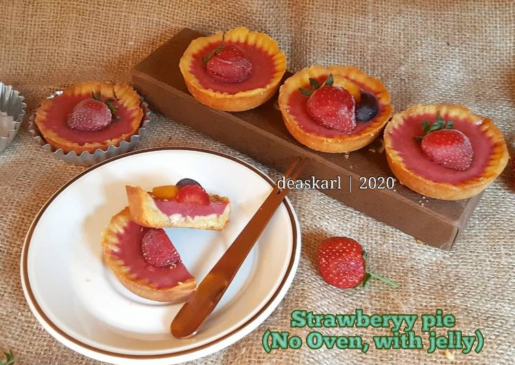 Strawberry Pie (No Oven, with jelly)
