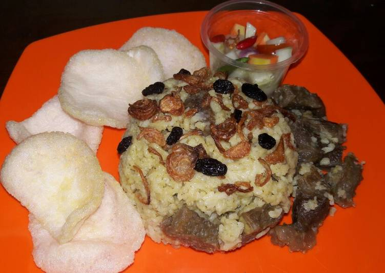 Nasi Kebuli beras lokal