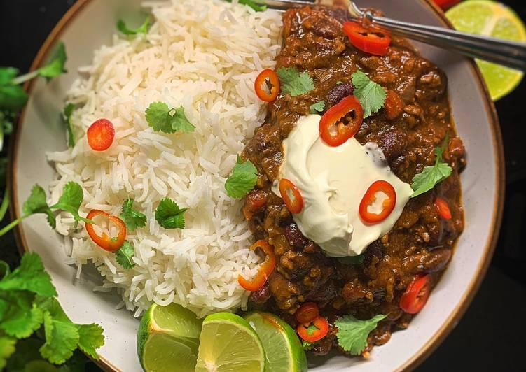 Recipe of Any-night-of-the-week Chilli Con Carne