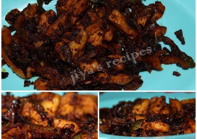 Steps to Prepare Quick Kerala Chicken Roast