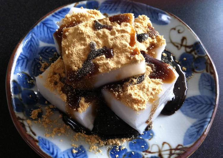 Dine These 14 Superfoods to Go Green for Optimal Health, Milk Kuzu Mochi
