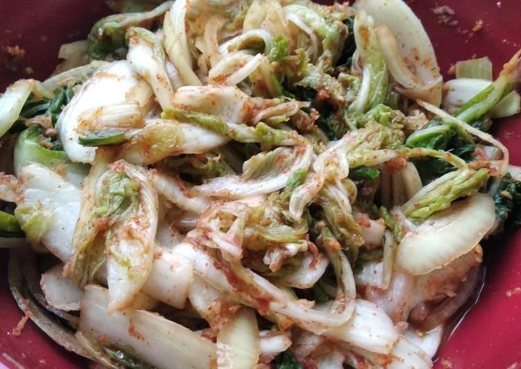 Kimchi Sawi Segar