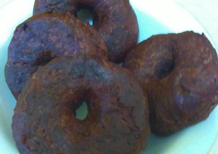Resep Donat coklat tanpa telur kayak dunkin donuts Anti Gagal