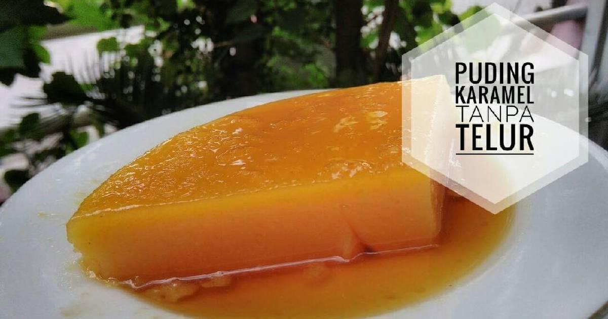 Resep Puding Karamel Tanpa Telur Tanpa Oven Oleh Wiwin Winaryosih Cookpad