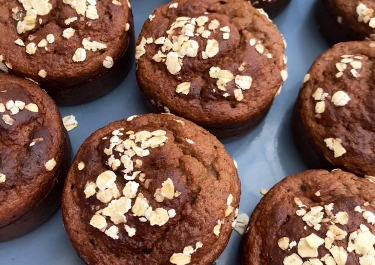Muffins Banane et Avoine