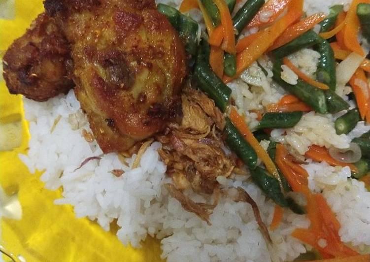 Sambal nasi uduk homemade