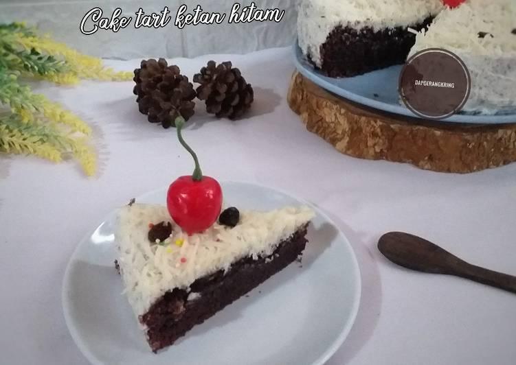 29. Cake tart ketan hitam