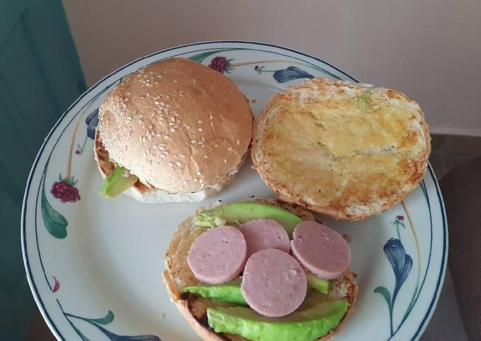 Avocado buns with some nyamabite slices