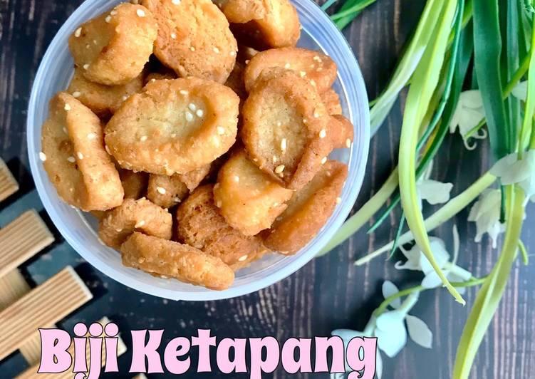 Biji Ketapang Manis (Eggless)