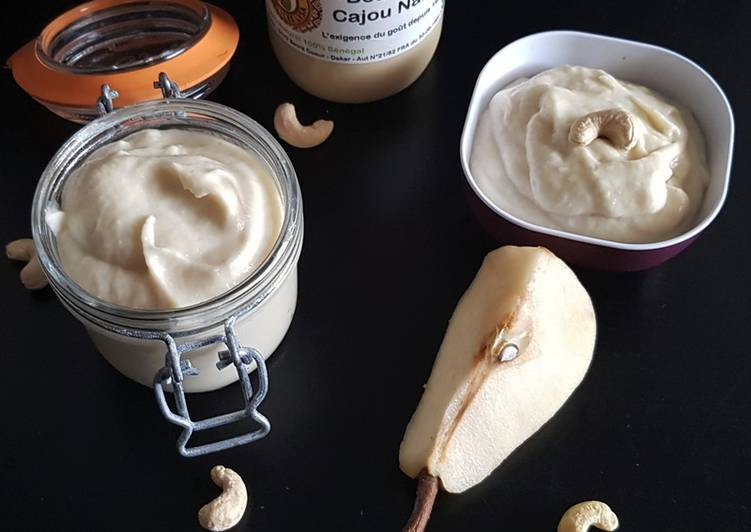 Comment Servir Beurre de poires et noix de cajou