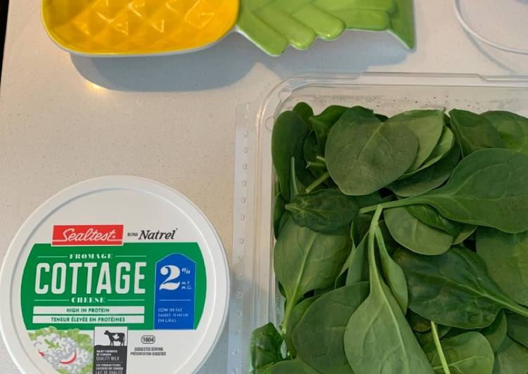 Easiest Way to Prepare Ultimate Cottage & spinach Bolognese lasagna