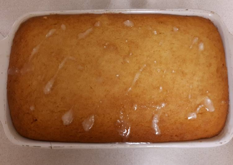 Simple Way to Prepare Ultimate Wheat free lemon drizzle cake G/F