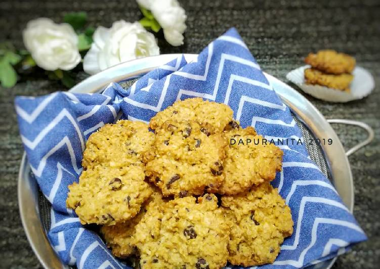 Choco Oatmeal Cookies