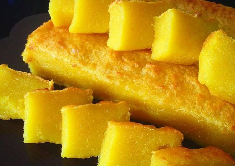 Resep Bingka Singkong Atau Ubi Kayu Oleh Kookee Cake Cookies Cookpad