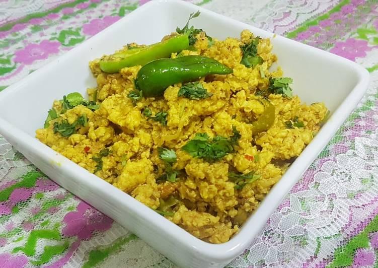 Mince chicken(keema karahi)