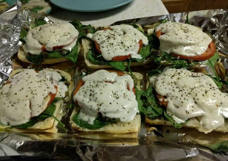 Italian Flatbread Sandwich