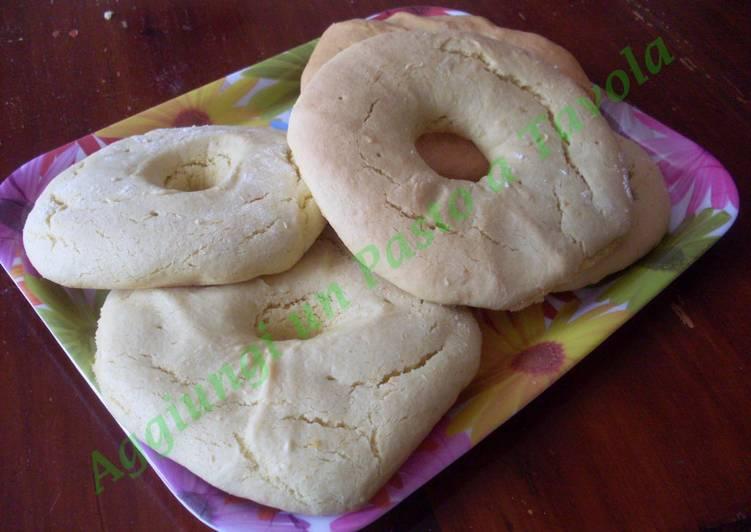 Ricetta Ciambelle pasquali toscane al forno