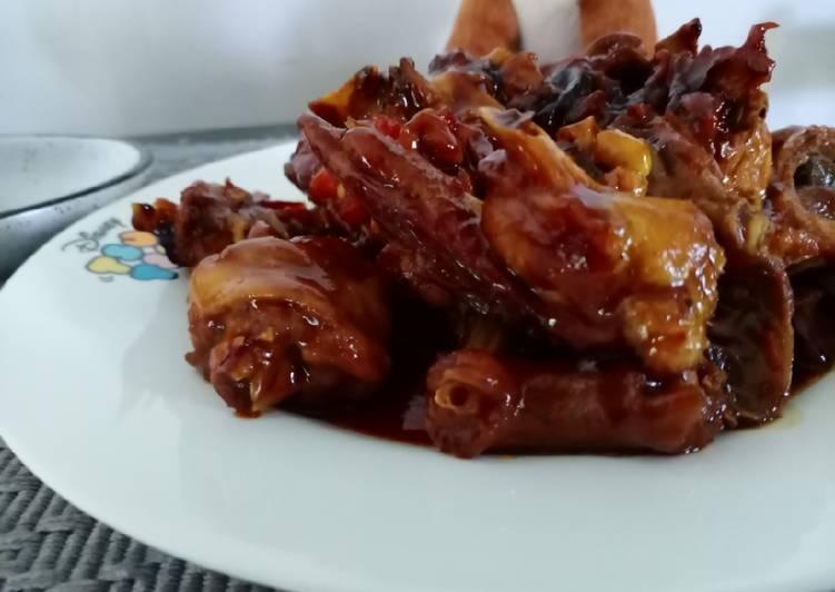 Ayam kecap spesial