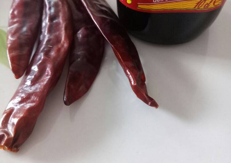 Recipe of Ultimate Make your own chilli oil