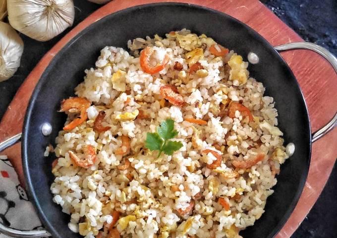 Cara Mudah Membuat Nasi Goreng Ebi🍤, Menggugah Selera