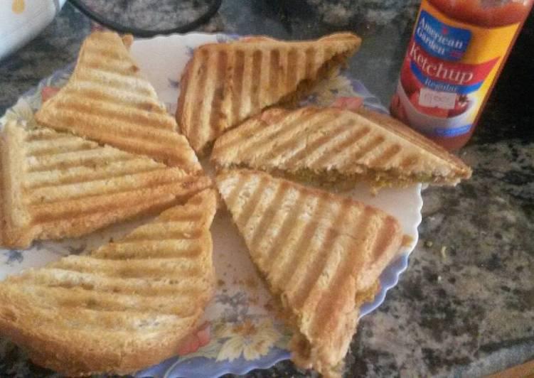 Recipe: Tasty Grilled Soya Sandwich