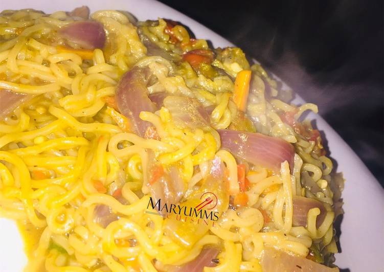 Steps to Make Homemade HOTs NOODLE🍜 by maryumms_cuisine🌸
