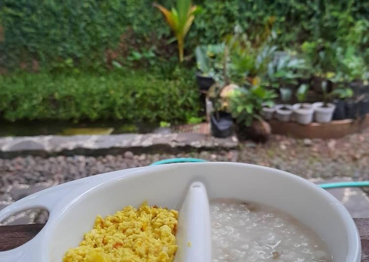 Cara mudah membuat Mpasi 8m+ Daging ayam telur puyuh