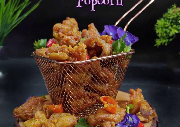 Ayam Popcorn Goreng Bawang