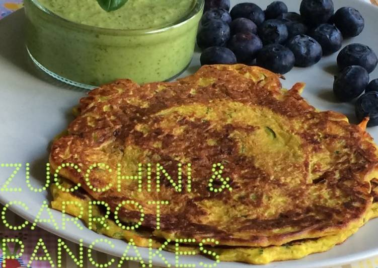 Recipe of Ultimate Zucchini and Carrot Pancakes