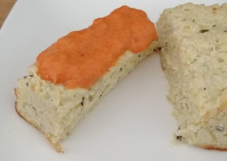 Recipe: Delicious Terrine de courgettes coulis de poivrons