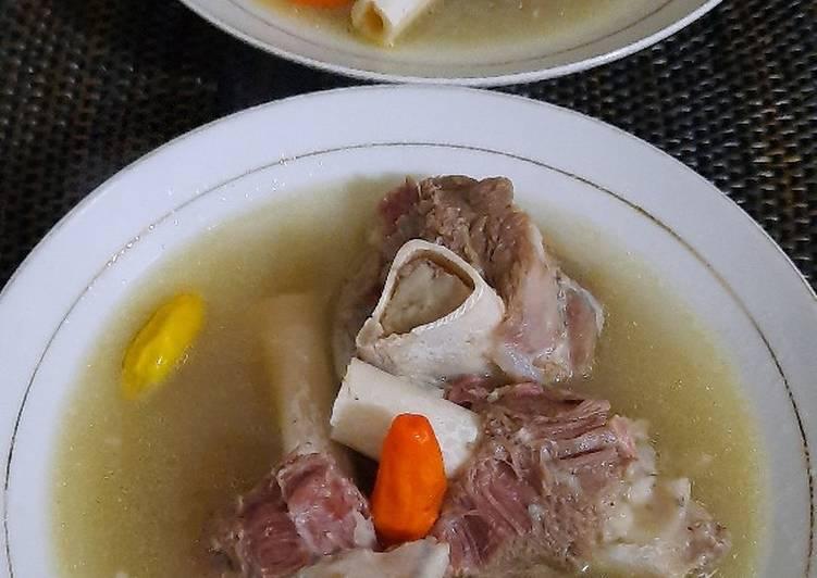 Sup sumsum kaki kambing