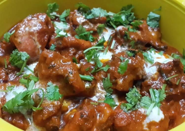How to Prepare Perfect Butter Chicken with a twist