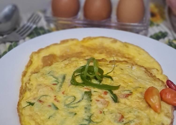 Resep Telur Dadar Keju Bikin Ngiler